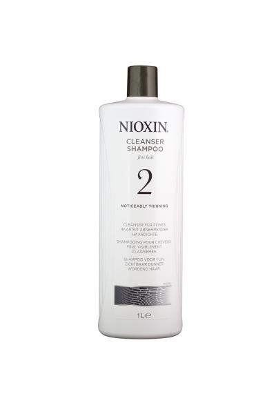 Sampon impotriva caderii parului Nioxin System 2 Cleanser, 1000 ml