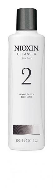 Sampon impotriva caderii parului Nioxin System 2 Cleanser, 300 ml