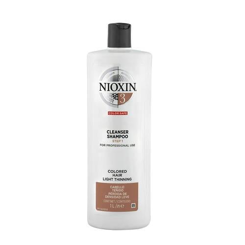 Sampon impotriva caderii parului Nioxin System 3 Cleanser, 1000 ml