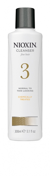 Sampon impotriva caderii parului Nioxin System 3 Cleanser, 300 ml