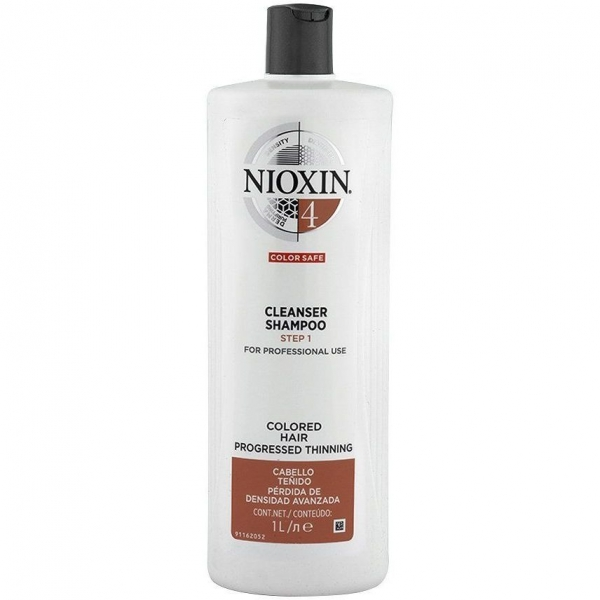 Sampon impotriva caderii parului Nioxin System 4 Cleanser, 1000 ml 0