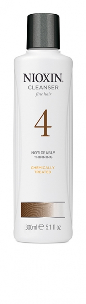 Sampon impotriva caderii parului Nioxin System 4 Cleanser, 300 ml