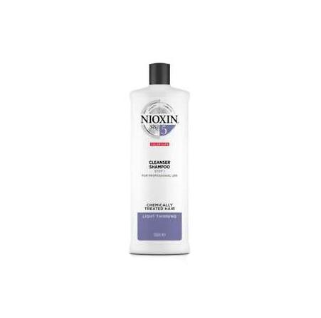 Sampon impotriva caderii parului Nioxin System 5 Cleanser, 1000 ml