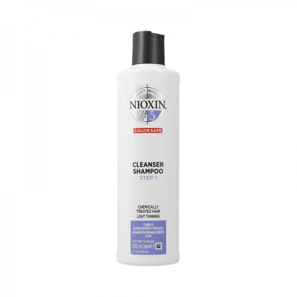 Sampon impotriva caderii parului Nioxin System 5 Cleanser, 300 ml