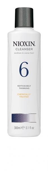 Sampon impotriva caderii parului Nioxin System 6 Cleanser, 300 ml