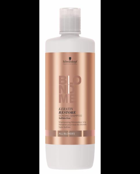 Sampon pentru par blond Schwarzkopf Blonde Me Restore Bonding Shampoo, 1000 ml 0