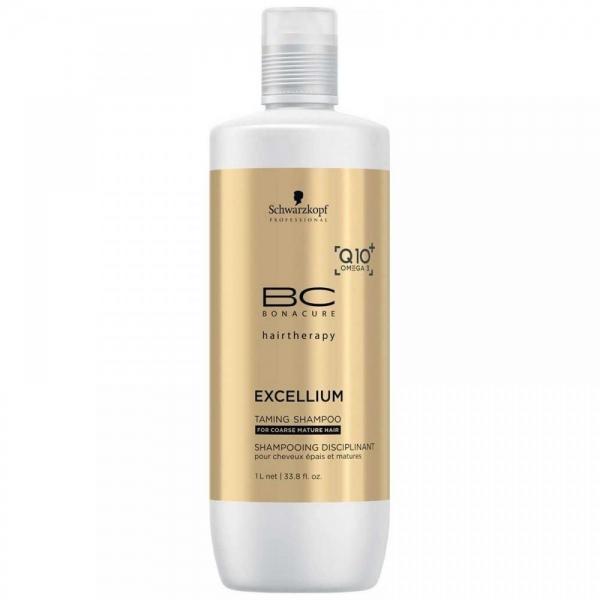 Sampon pentru par matur aspru Schwarzkopf Bonacure Taming Shampoo, 1000 ml