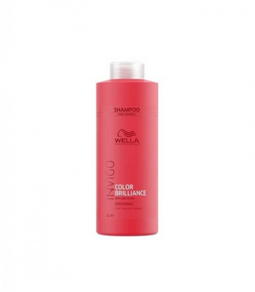 Sampon pentru par vopsit cu fir fin-normal Wella Professionals Invigo Brilliance, 1000 ml
