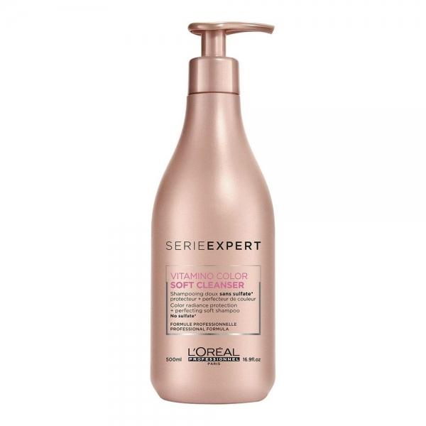 Sampon pentru par vopsit L`Oreal Professionnel Serie Expert Vitamino Color AOX Soft Cleanser, 500 ml 0
