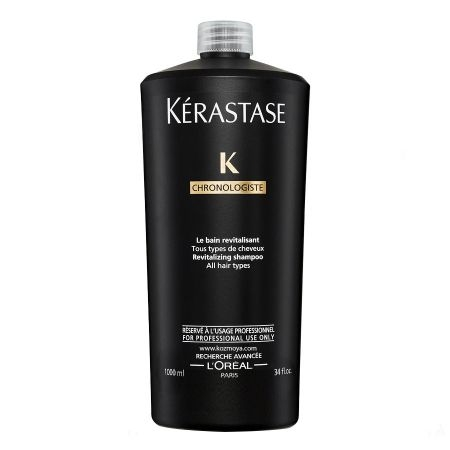 Sampon pentru toate tipurile de par Kerastase Chronologiste Bain Revitalisant, 1000 ml