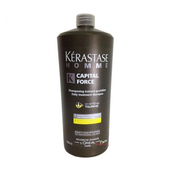 Sampon revitalizant Kerastase Homme Bain Capital Force Vita-Energetique, 1000 ml