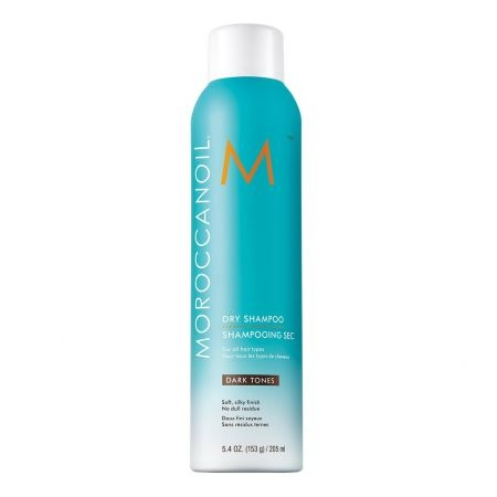 Sampon uscat pentru par ton inchis Moroccanoil Dry Shampoo Dark, 205 ml