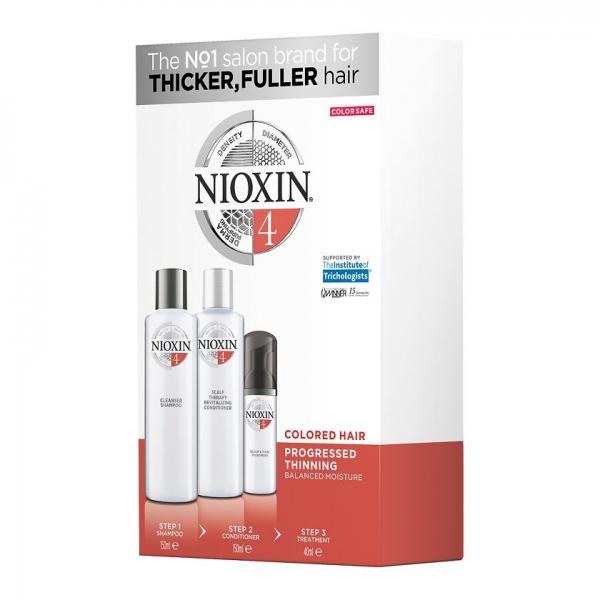 Set impotriva caderii parului Nioxin System 4, 150+150+40 ml