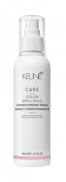 Spray balsam protector pentru par vopsit Keune Care Color Brillianz, 140 ml