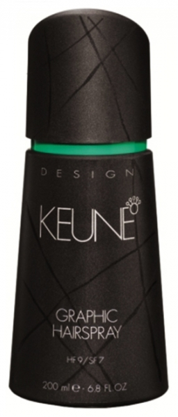 Spray coafant pentru textura si fixare super puternica Keune Graphic Hairspray, 200 ml 0