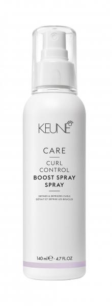 Spray cu cheratina pentru reactivarea si disciplinarea buclelor Keune Care Curl Control Boost,140 ml
