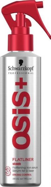 Spray ser pentru protectie termica Schwarzkopf OSIS+ Flatliner 200 ml