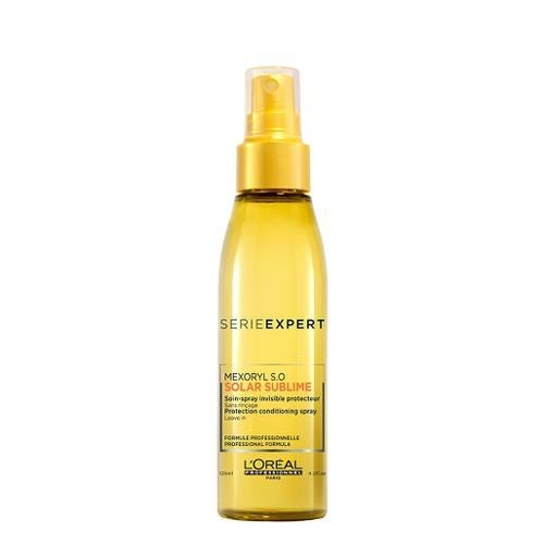 Spray tratament protector pentru par expus la soare  L`Oreal Professionnel Serie Expert Solar Sublime Spray Invisible Protector, 125 ml