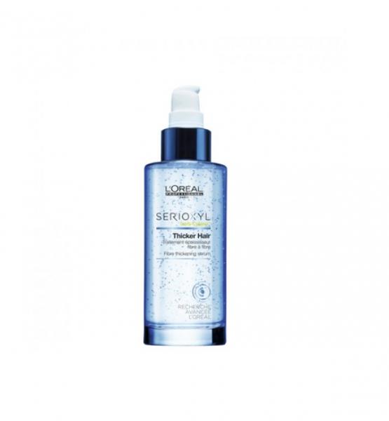 Tratament leave-in pentru ingrosarea firului de par L`Oreal Professionnel Serioxyl Thicker Hair, 90 ml