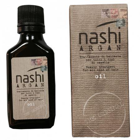Ulei hidratant pentru toate tipurile de par si pentru protectie UV Nashi Argan Oil , 30 ml