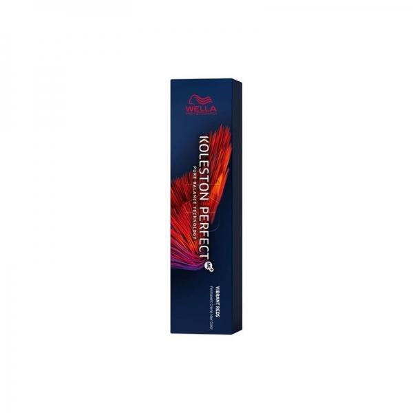 Vopsea de par permanenta Wella Professionals Koleston Perfect Me+ 77/44 , Blond Mediu Intens Rosu Intens, 60 ml 0